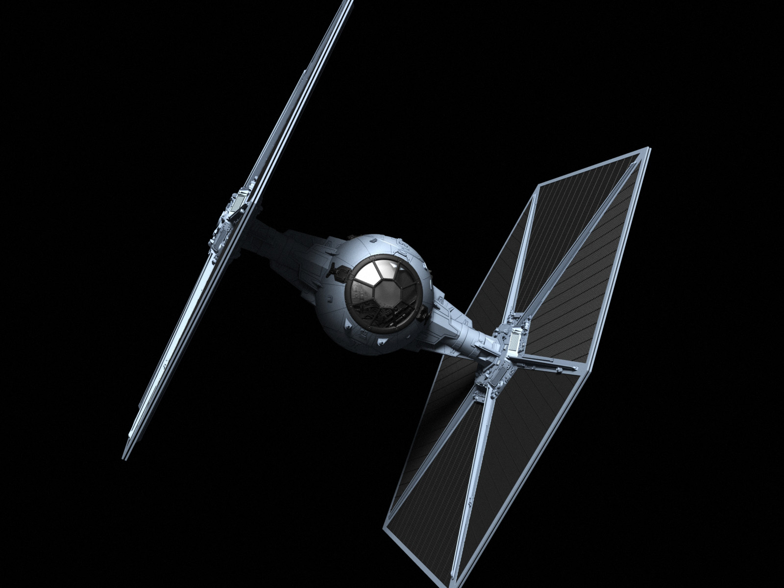 S/V TIE Fighter « disengage.