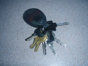 not a regular key in sight