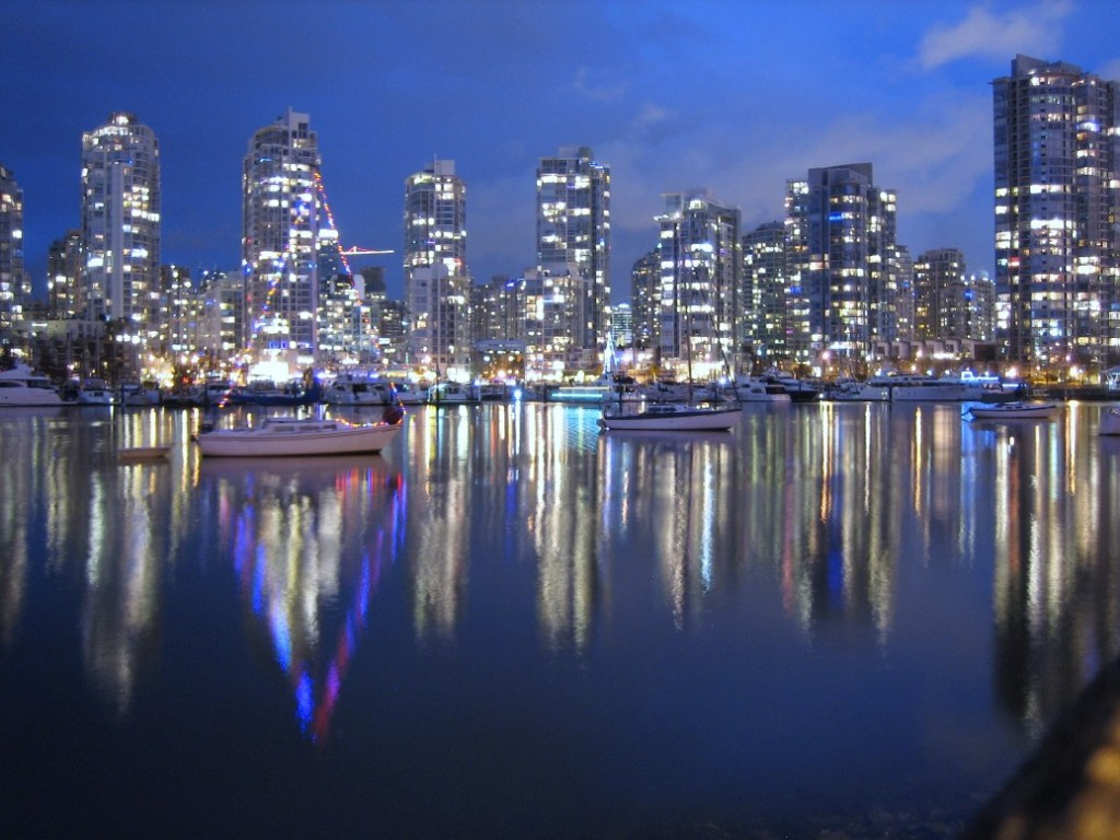 Christmas in False Creek