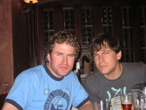 Darren and Drew in 2007 or so