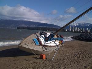 Brad's boat, 'Gini 2'