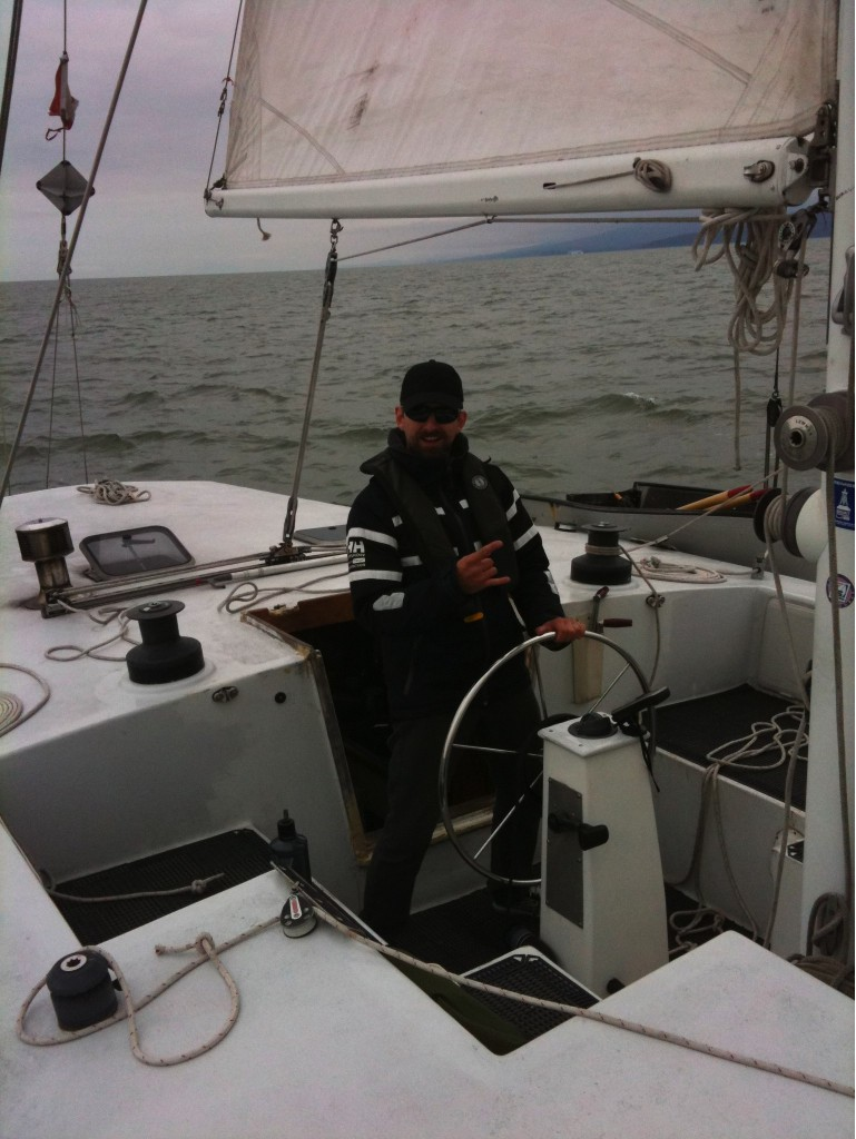 Ernst at the helm