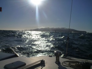 rounding the Olympic Peninsula, onward into the Pacific Ocean