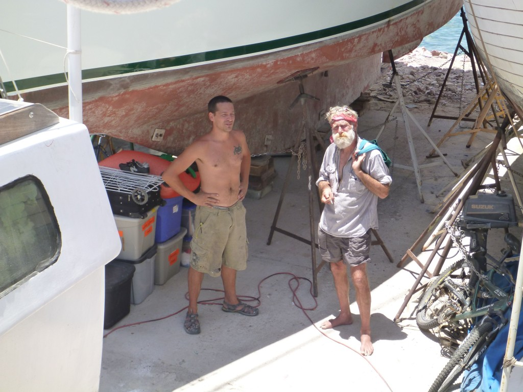 our boatyard friend Doug